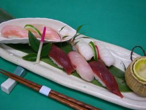 本日の寿司盛り合わせ
